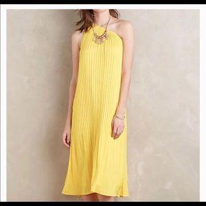 Gorgeous Anthropologie Yellow Dress